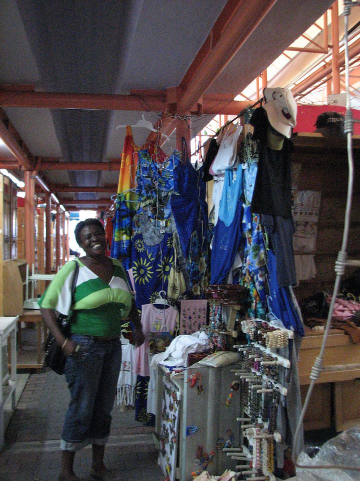 Scene from St. John's market.