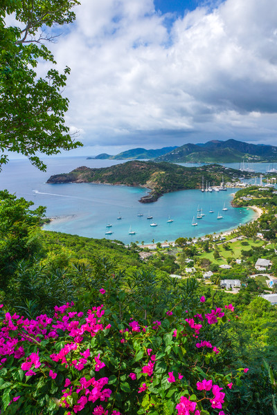 Freeman's Bay from Shirley Heights, Antigua