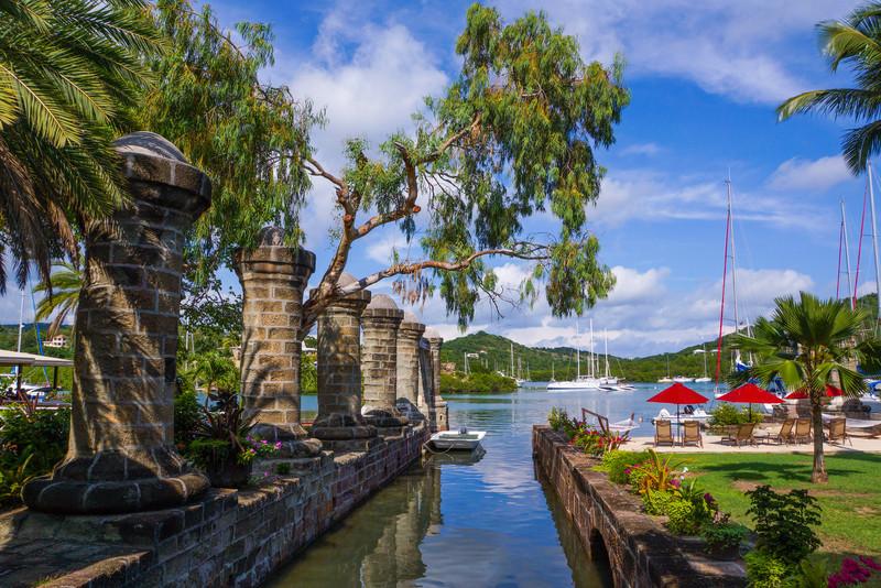 Columns, Admiral's Inn, Antigua