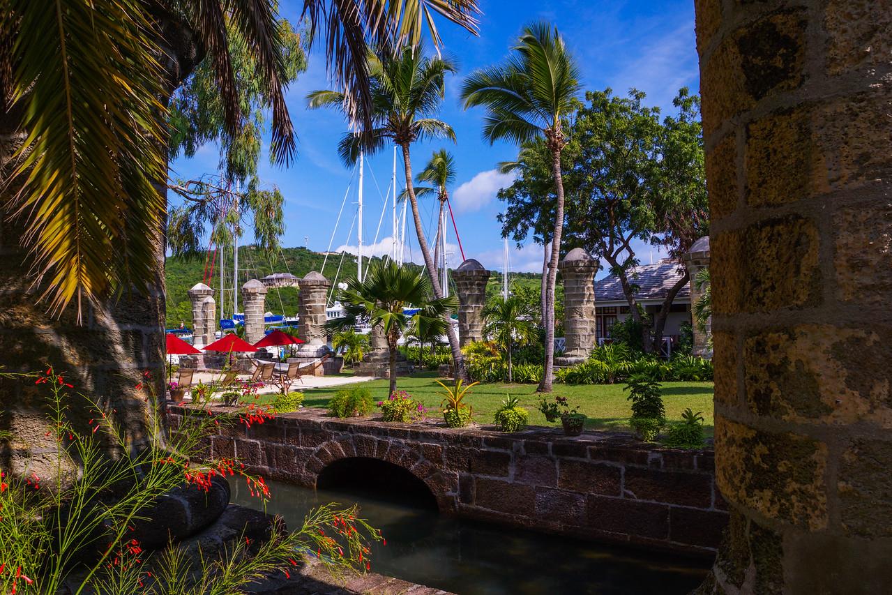 Columns, Nelson's Dockyard, Antigua