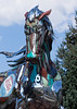 scrap metal horse front 7990