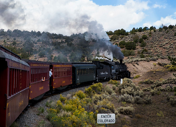 Toltec Steam Train  7149cf DExt ProC Burn