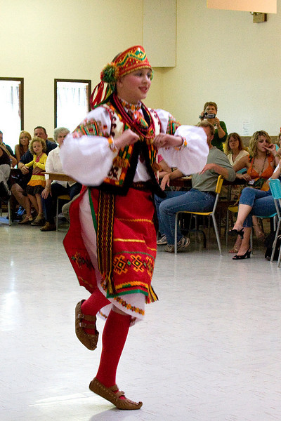 of course there was Ukrainian dancing