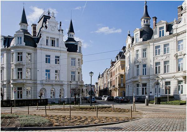 Antwerp Belgium Zurenborg District Photos.