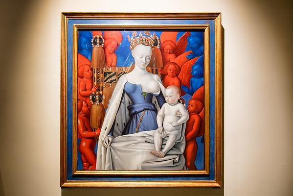 Rockoxhuis Museum treasures - Madonna by Fouquet