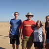 Standing at Osborn Overlook at the Imperial Sand Dunes.