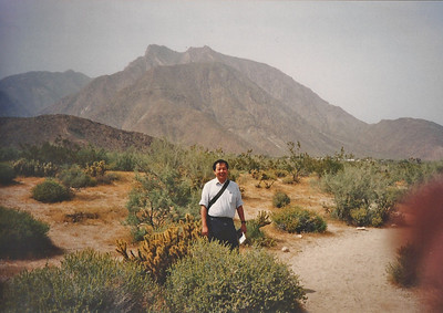 4/9/95 Desert Garden, Visitor Center.