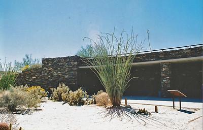 3/7/04 Visitor Center, Anza Borrego Desert State Park, E. San Diego County, CA