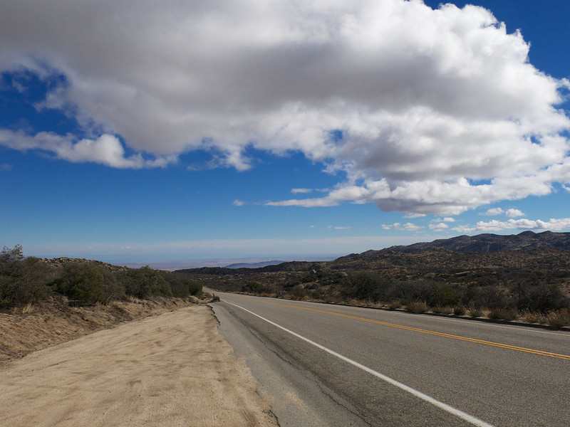 Entering Anza-Borrego