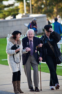 Anzac Veteran  Anzac day Perth 2011