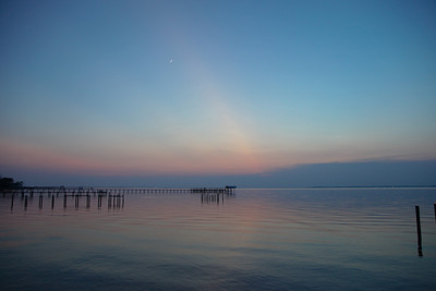 Suset over Apalachicola Bay
