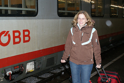 """There was snow on the tracks.  We hadn't even left Vienna and I was already hearing the """"half-marathon in winter wtf"""" line."""