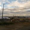 Everett Naval ship Yard from the train.