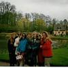 Hamlet at Versailles - Marie Antoinette's village<br /> Andrea, Jenny, me, Kim, Megan, Jenny, Amy