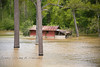 Bogue Chitto River Flooding in Franklinton Louisiana
