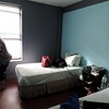 Our room.  Two nights intown for $277 taxes included.  Free parking.