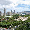 view of Waikiki area from the hotel