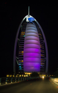 """The Burjal Arab, better known as the """"Sail Hotel"""", purely """"Las Vegas' at it's best I don't even want to know the cost of drinks and hors d'oeuvres"""