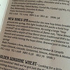 The important menu at McMenamin's. I enjoyed the IPA.