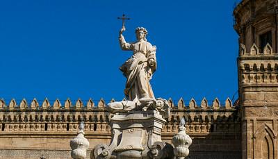 Santa Rosalia, Catedrale Palermo