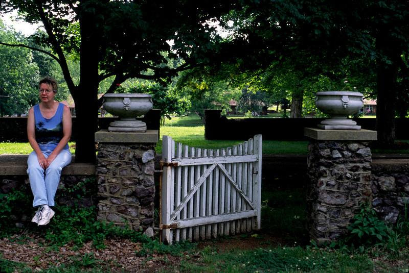 Rita - cemetery gate