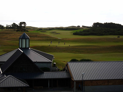 Golf heaven at Bandon Dunes. Scottish links courses on the Oregon coast.