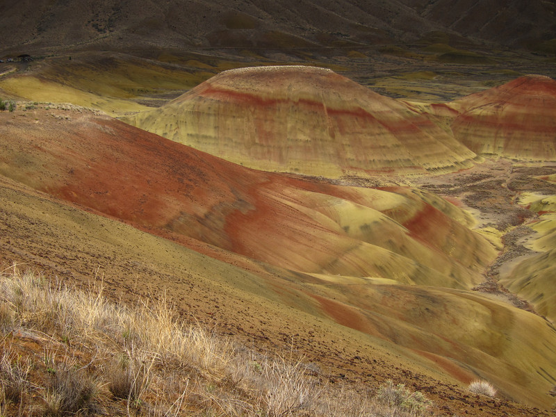The Painted Hills, part of the John Day Fossil Beds Monument