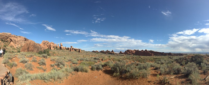 Arches NP panorama