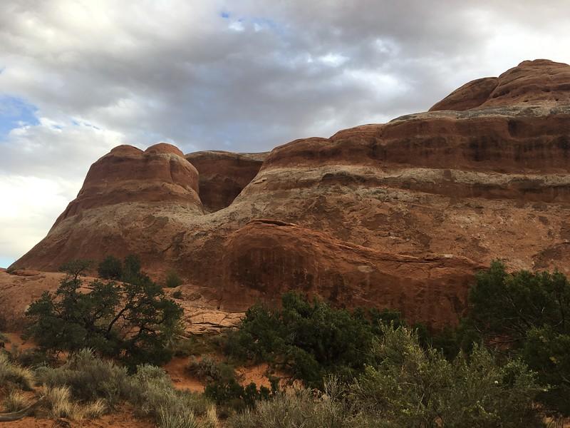 Moab bluffs