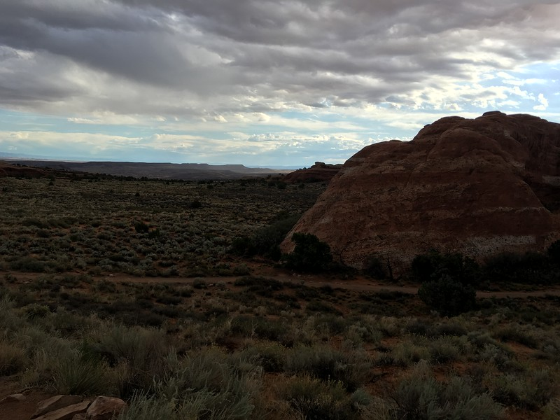 Arches NP scenery