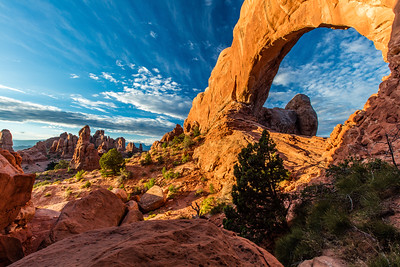 North window , Arches NP
