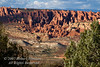 Fiery Furnace area from Panorama Point, Arches National Park, Moab, Utah, USA, North America