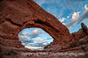Window Arch, Arches National Park, Utah