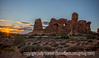 Sunset in Arches National Park, Utah; best viewed in the largest sizes