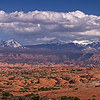 La Sal Mountains Panorama