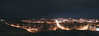 This is a small panoramic view of the river valley in Medicine Hat at night.  This picture represents approximately about one  fifth of the cities size I believe.
