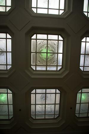 Skylight of the Galleria Park Hotel, 191 Sutter