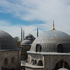 The Blue mosque seen from Ayasofia