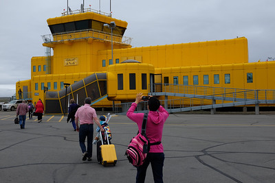 "Arrival At ""Prefab"" Iqaluit Airport, Nunavut, Canada"