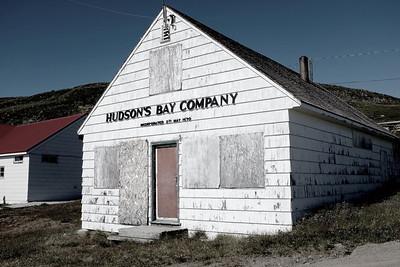 Original Hudson's Bay Company Apex, NU Outpost (est. 1943)