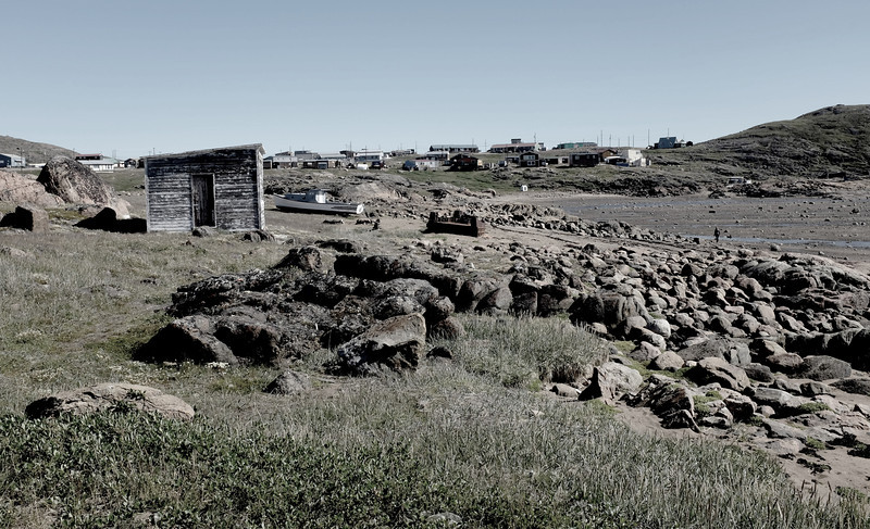 View of Apex, NU. Apex Was the Inuit Town Servicing the One-time U.S. DEW Line Airbase That is Now the Iqualuit Airport.