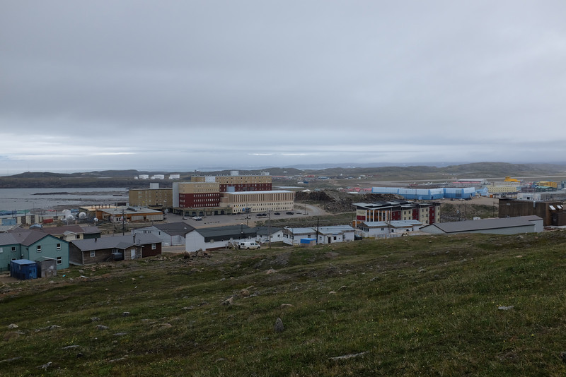 Iqaluit Town From Nearby Hill