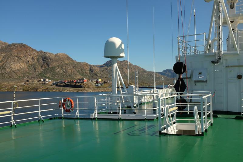 Satellite Receiver, Deck 7