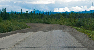 here comes the gravel highway, The Dempster, Speed Limit 90 kmh