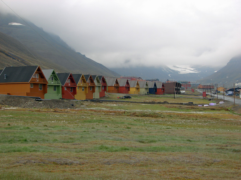 Longyearbyen, on West Spitzbergen Island