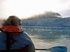 Kayaking in a tidal glacier bay