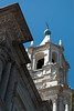 El campanario que quedó en pie tras el terremoto de 2001 - Catedral - Plaza de Armas - Arequipa - Perú<br /> <br /> The bell tower that remained standing after the 2001 earthquake - Cathedral - Plaza de Armas - Arequipa - Peru<br /> <br /> De klokkentoren die overeind bleef na de aardbeving van 2001 - Kathedraal - Plaza de Armas - Arequipa - Peru<br /> <br /> Le clocher qui est resté debout après le séisme de 2001 - Cathédrale - Plaza de Armas - Arequipa - Pérou