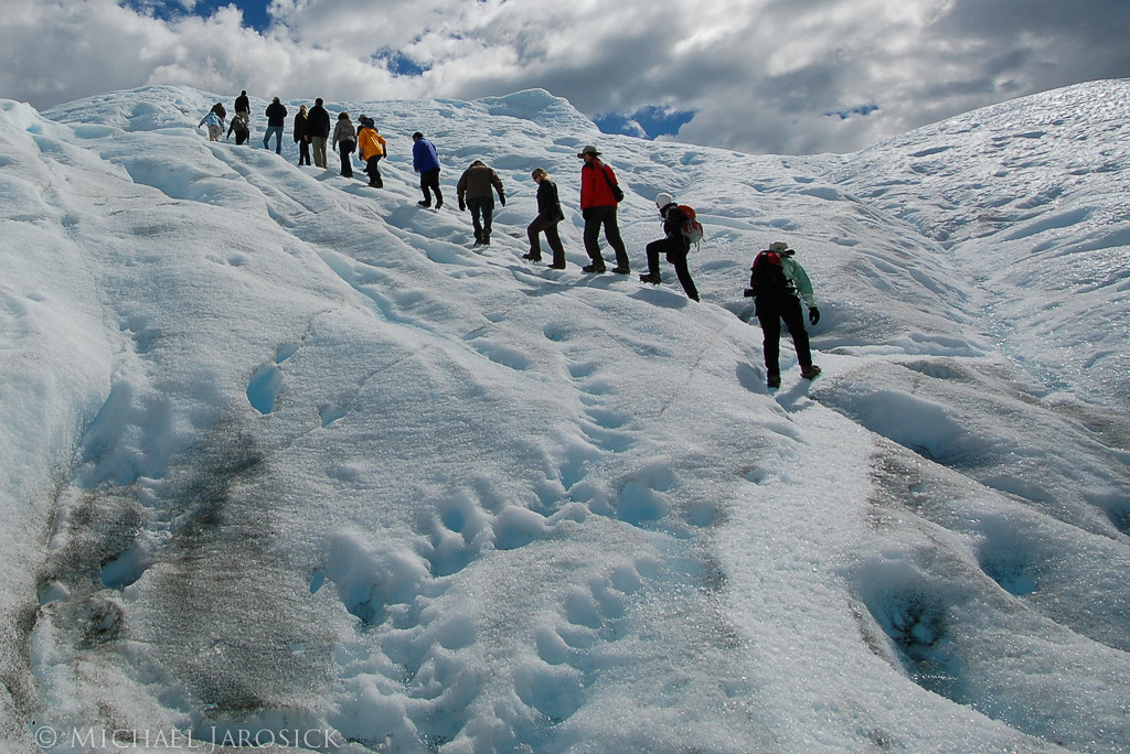 Our turn to hike on the glacier.