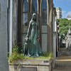 Memorial to a young girl who died in a yellow fever epidemic.<br /> Recoleta Cemetery, Buenos Aires.