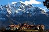 View of Llao Llao Hotel, Bariloche, Province of Rio Negro, Patagonia, Argentina, September,2005. (Australfoto/Horacio Paone)